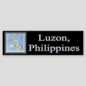 Luzon Map Gifts Bumper Sticker