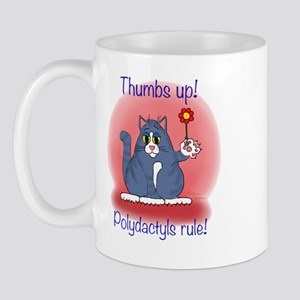 Polydactyls Rule! Mug