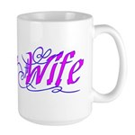 Navy Wife ver2 Large Mug