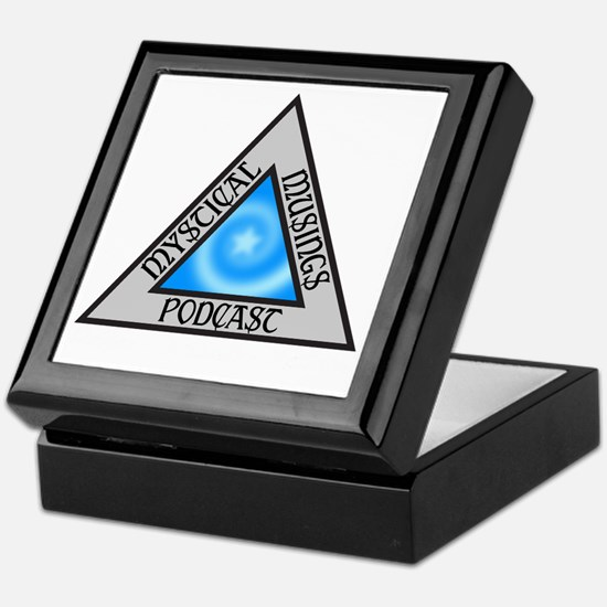 Mystical Musings Podcast Logo Keepsake Box