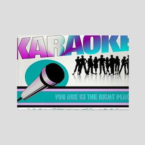LOOKIN FOR KARAOKE... Rectangle Magnet