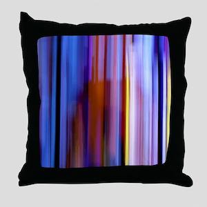 Surreal Stripes Throw Pillow