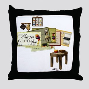 Gluten Free Kitchen Throw Pillow