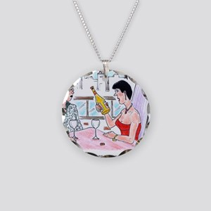 Termites in my chardonnay? Necklace Circle Charm