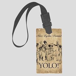 Lydia Bennet YOLO Large Luggage Tag