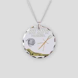 Parthenogenesis Necklace Circle Charm