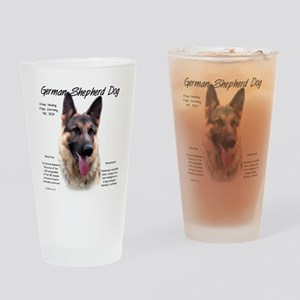 GSD Drinking Glass