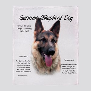 GSD Throw Blanket