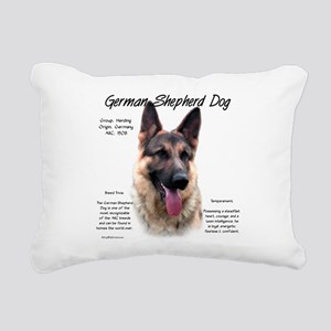 GSD Rectangular Canvas Pillow
