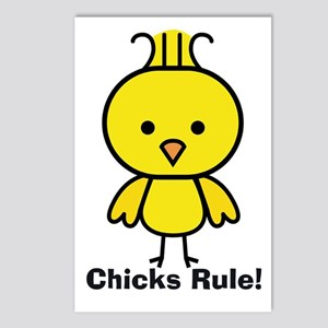 Chicks Rule! Postcards (Package of 8)