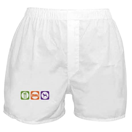 Eat Sleep Bracco Boxer Shorts
