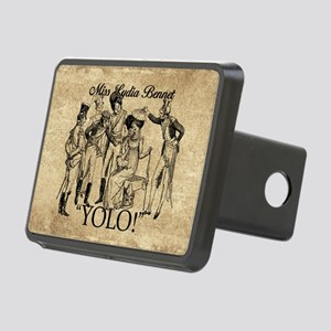 Lydia Bennet YOLO Rectangular Hitch Cover