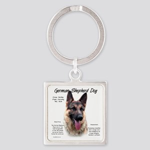 GSD Square Keychain