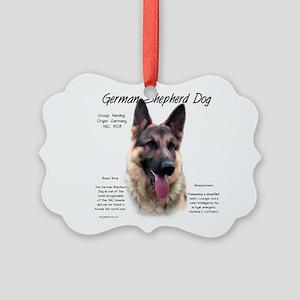 GSD Picture Ornament