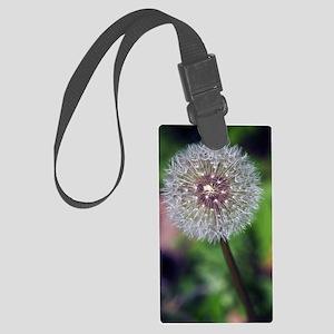 GreetingCard_Flower_1 Large Luggage Tag