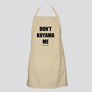 Dont Koyama Me Black Apron