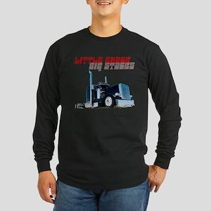 Little Shack Big Stack Long Sleeve Dark T-Shirt
