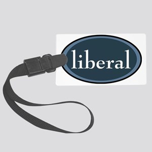 liberal Large Luggage Tag