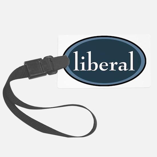 liberal Luggage Tag