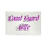 Coast Guard Wife Rectangle Magnet (100 pack)
