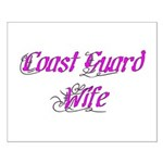 Coast Guard Wife Small Poster