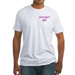 Coast Guard Wife Fitted T-Shirt