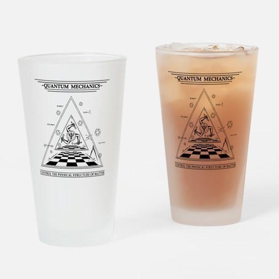Quantum Mechanics - Surreal Drinking Glass