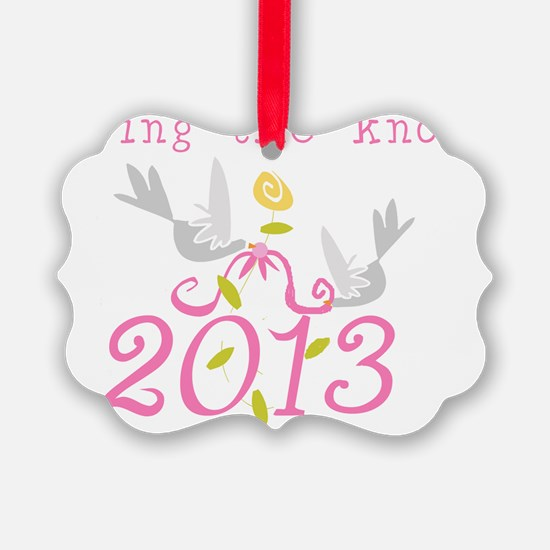 Tying the Knot 2013 Ornament