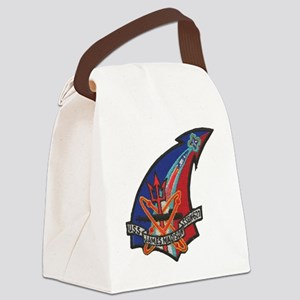 uss james madison patch transpare Canvas Lunch Bag