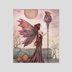 Molly Harrison Fantasy Art Calendar Throw Blanket