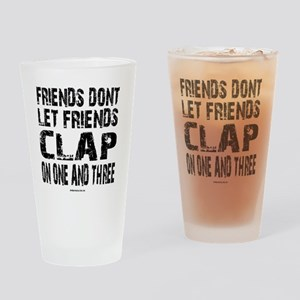 One and Three Drinking Glass