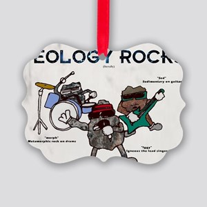 Geology rocks original Picture Ornament