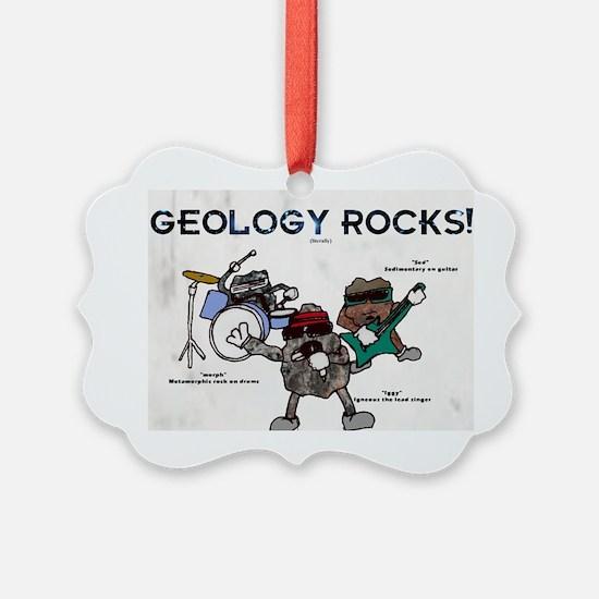 Geology rocks original Ornament
