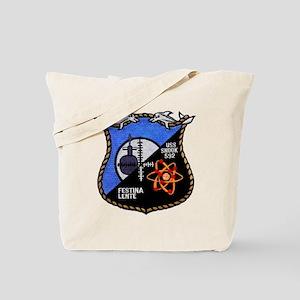 uss snook patch transparent Tote Bag