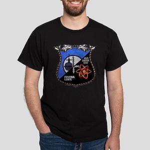 uss snook patch transparent Dark T-Shirt