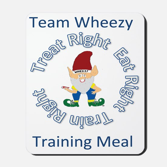 Team Wheezy Lunch Mousepad