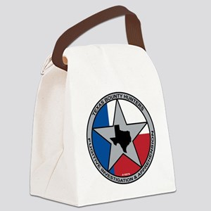 Texas Bounty Hunters Logo Canvas Lunch Bag