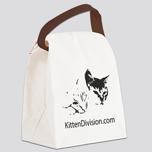 Kitten Division Canvas Lunch Bag