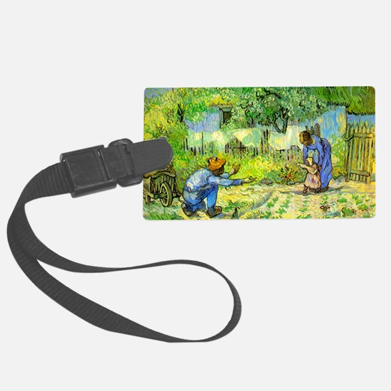 The First Step by Vincent van Go Luggage Tag