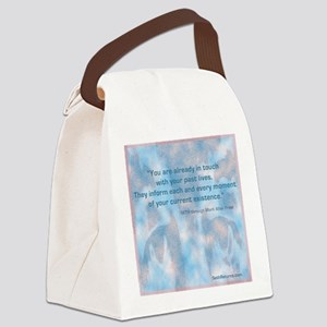 Past Lives Canvas Lunch Bag