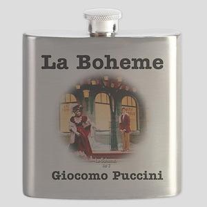 OPERA - LA BOHEME - GIOCOMO PUCCINI Flask