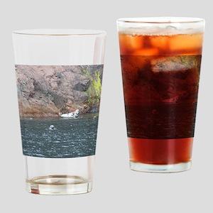 Cape Breton Island Seals Large Prin Drinking Glass