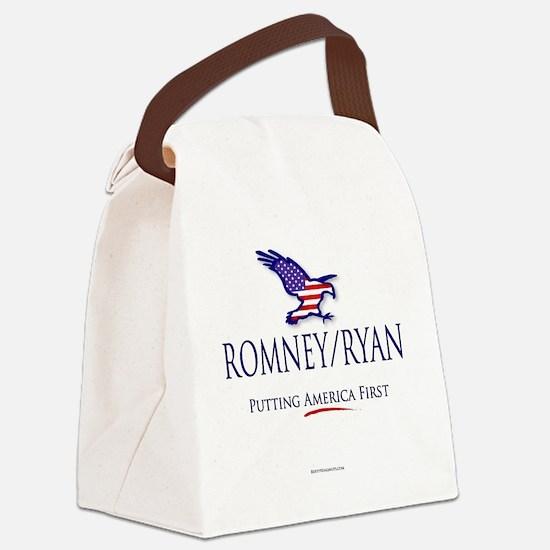 Romney-Ryan America First Canvas Lunch Bag