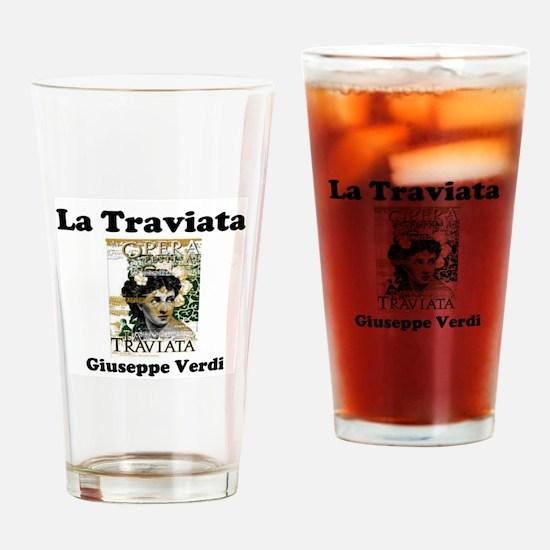 OPERA - LA TRAVIATA - GIUSEPPE VERD Drinking Glass