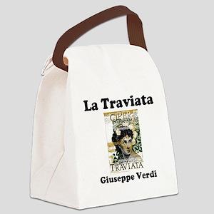 OPERA - LA TRAVIATA - GIUSEPPE VE Canvas Lunch Bag