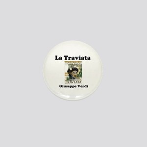 OPERA - LA TRAVIATA - GIUSEPPE VERDI Mini Button