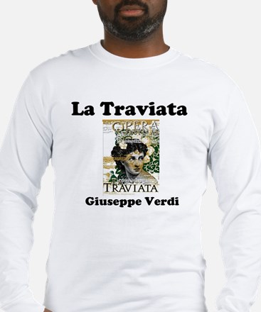 OPERA - LA TRAVIATA - GIUSEPPE Long Sleeve T-Shirt
