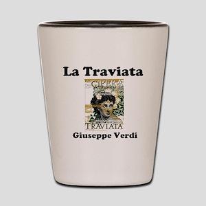OPERA - LA TRAVIATA - GIUSEPPE VERDI Shot Glass