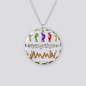 Jammin Necklace Circle Charm
