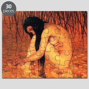 Felix Vallotton Bathing Puzzle